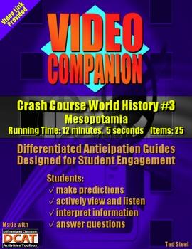 Video Companion: Crash Course World History #3, Mesopotamia