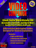 Video Companion: Crash Course World History #36, World War I