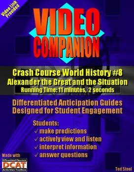 Video Companion: Crash Course World History #8, Alexander the Great