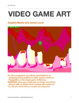 Video Game Art (with Adobe Flash and Photoshop)