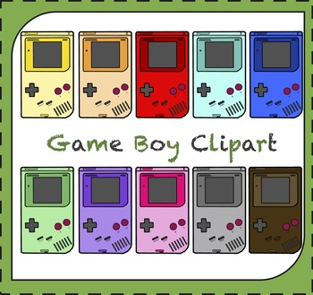 Video Game Clipart / Gameboy Clipart