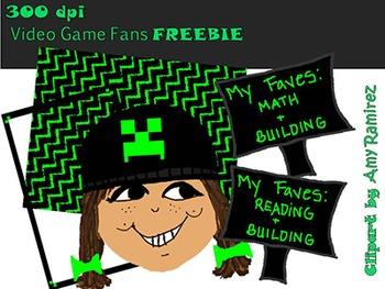 Video Game Fans Freebie