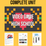 Video Game High School: A complete ESL chapter about video games!