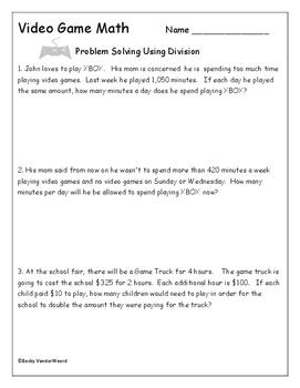 Video Game Math