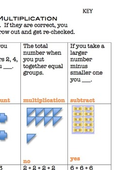 Video Game Math Topic 4 Meanings of Multiplication Answer Key