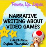 Video Game Narrative Writing