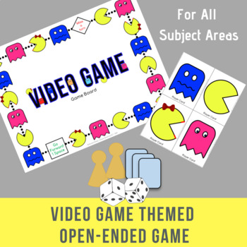 Video Game Themed Open Ended Game For All Subject Areas