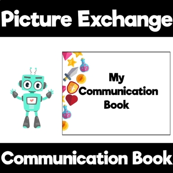 Video Game themed Communication Book starter set