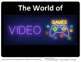 Video Games Online Web Search for Teens - fillable PDF