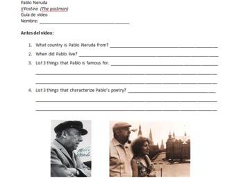 Spanish Video Guide - Il Postino - The Postman - Film on Pablo Neruda