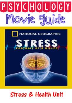 Video Guide & Key for Stress Portrait of a Killer National Geographic film