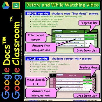 Video Guide, Quiz for Bill Nye – Eyeball * Google Doc™ for Student