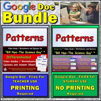 Video Guide, Quiz for Bill Nye – Patterns * Value BUNDLE