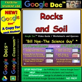 Video Guide, Quiz for Bill Nye – Rocks and Soil * Distance Learning for Student