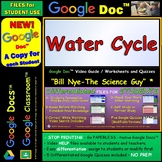 Video Guide, Quiz for Bill Nye – Water Cycle * Distance Learning for Student
