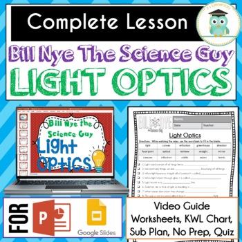 Bill Nye Science - Light Optics