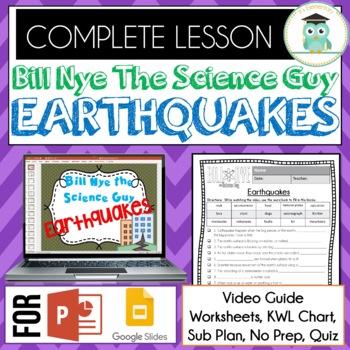 Bill Nye - Earthquakes