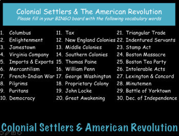 Colonial America & Revolutionary War: US History Review PowerPoint Presentation
