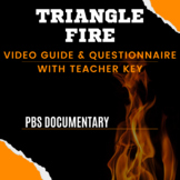 """Video Guide and Questionnaire for """"Triangle Fire"""" by PBS"""