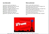 "Video Guide and Writing Assign: ""Paris Je T'aime"" Immigration Issues for Spanish"