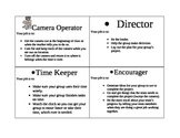Video Job description chart