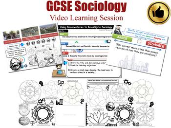 Video Learning Session - Crime & Deviance L20/20 (GCSE Sociology)