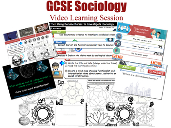 Video Learning Session - Social Stratification (GCSE Sociology - L20/20)
