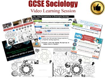 Video Learning Session - The Sociology of Education (GCSE Sociology - L20/20)