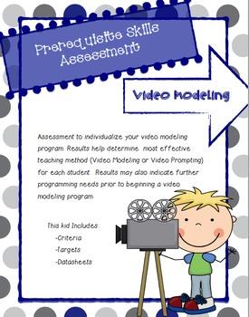 Video Modeling Pre-Requisite Skills Assessment