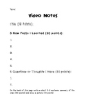Video Note Taking