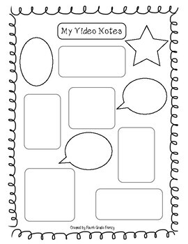 Free Video Notes Worksheet