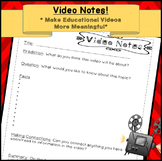 Video Notes | Movie Notes by Peas in a Pod