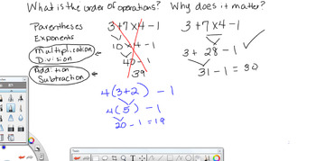 Video -- Order of Operations
