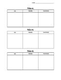 Video Participation Worksheet