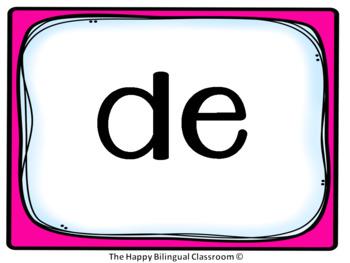 Video PowerPoint de Palabras de uso frecuente Sight Word Exercise Spanish Set 1