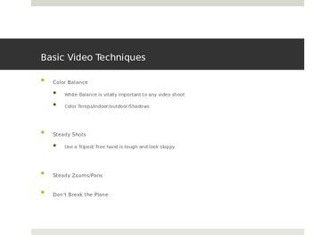 Video Production Basics