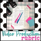 Video Production Project Rubric