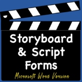 Video Productions Film Script and Storyboard