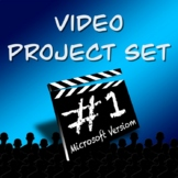 Video Productions Project Set 1- 3 PROJECTS!