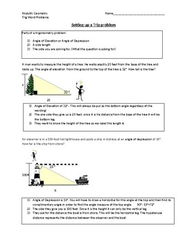 Right-Triangle Trig Riddle
