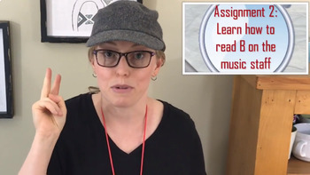 """3rd Recorder Lesson - Solving the Recorder Mystery """"Decoding B"""" VID/PPT/PDF"""