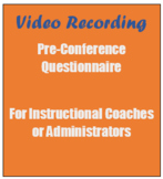 Video Recording Coaching Questions