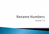Video: Rename Numbers - Go Math! Grade 4 - Lesson 1.5