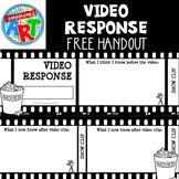 Video Response Sheet