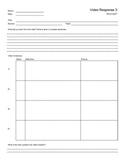 Video Response Worksheet 3
