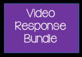 Video Response Worksheet Bundle