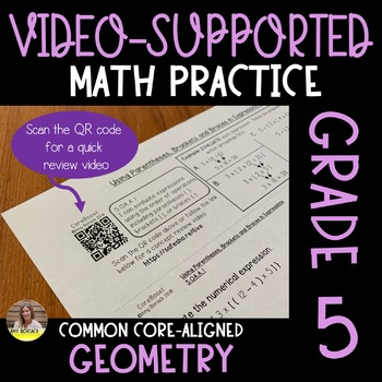 Video-Supported Math Grade 5: Geometry
