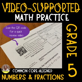 Video-Supported Math Grade 5: Number & Fractions