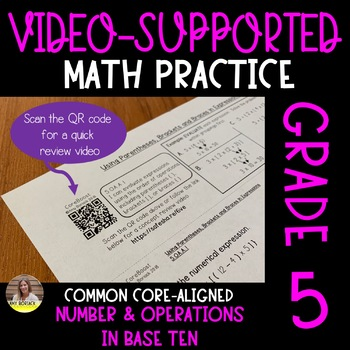 Video-Supported Math Grade 5: Number and Operations in Base Ten
