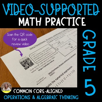 Video-Supported Math Grade 5: Operations & Algebraic Thinking